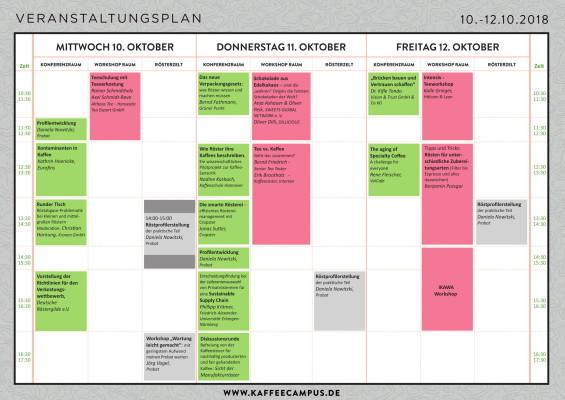 Kongress Zeitplan Kaffee Campus-1