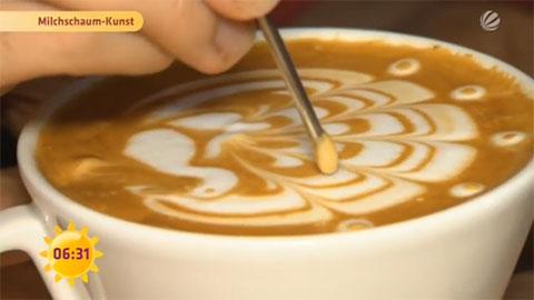 Sat.1 Frühstücksfernsehen vom Kaffee Campus 2014