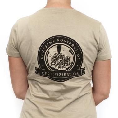 "Frauen T-Shirt ""Wir lieben echtes Handwerk"""